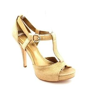 Coach Avery Gold Heel-NEW
